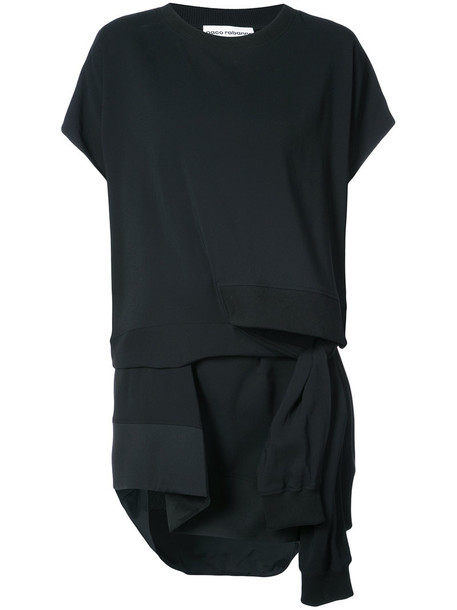 Paco Rabanne dress sweater dress women spandex black