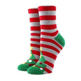socks christmas christmas socks stripes holidays sockconnection