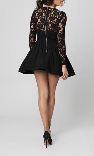 dress black dress cute dress lace dress