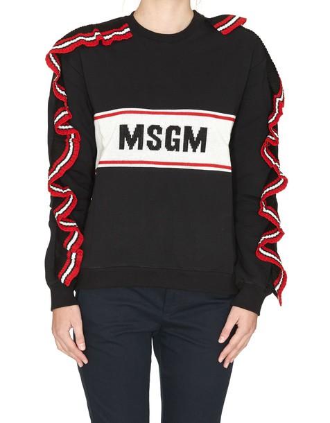 MSGM sweatshirt black sweater