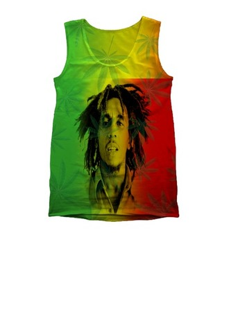 marley bob marley weed crystal quartz stoner bob dreads hippie hippie headband t-shirt tank top curvy floral flower hair raw stone necklace skinny pants tight high heels quilted