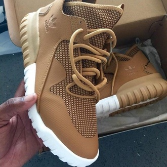 shoes nude tan adidas sneakers adidas shoes adidas tan highp high top sneakers adidas tubulars beige timberlands adidas timberlands nude sneakers adidas tubular