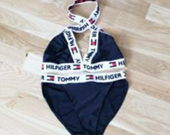 1317d56560 Reworked Tommy Hilfiger Bikini Related Keywords   Suggestions ...