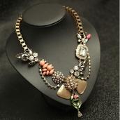 jewels,shourouk,aliexpress,j crew,statement necklace