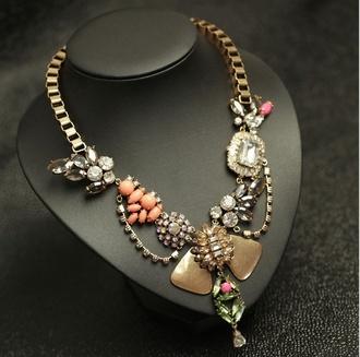 jewels shourouk aliexpress j crew statement necklace
