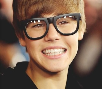 sunglasses justin bieber cute glasses smile black matte