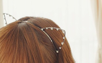 hair accessory cat ears headband jewelry