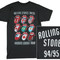 The rolling stones - voodoo tongues vintage t-shirt sur allposters.fr