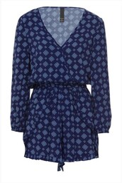 dress,blue,wrap dress,navy,floral,casual dress,one piece,flowers,dark and light,wrap round,dark blue,cute dress