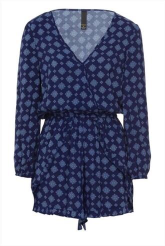 dress blue wrap dress navy floral casual dress one piece flowers dark and light wrap round dark blue cute dress