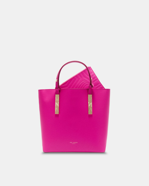 Ted Baker bag leather pink bright
