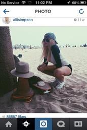 make-up,alli simpson,hair,beautiful,jewels,beach,style,longboard,camera,shoes,sunglasses,california girl beauty