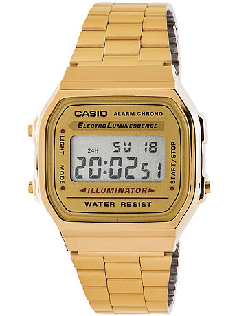 A168WG9-A Casio Gold Digital Watch | American Apparel