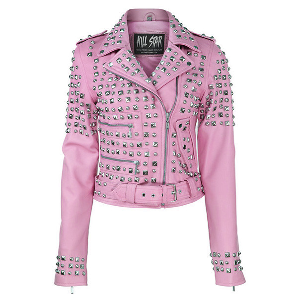Studded leather jacket [bp] – killstar