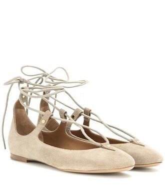 lace suede shoes