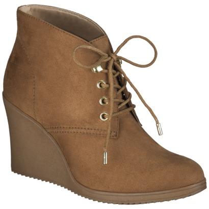 s merona 174 kadence wedge ankle boot c target