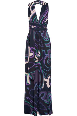 dress maxi dress maxi blue violet