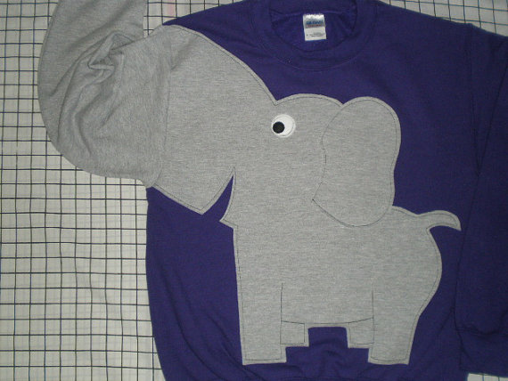 Elephant Trunk sleeve sweatshirt sweater di CreativeCallipipper