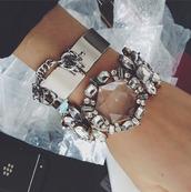jewels,bracelets,statement bracelet,statement jewelry