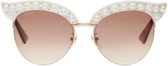 pearl sunglasses white