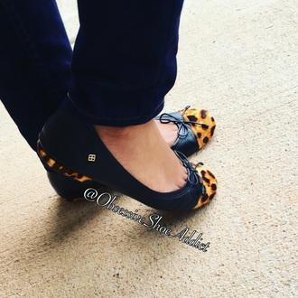 shoes animal print flats leopard flats flats black black flats animal print cristofoli leopard print