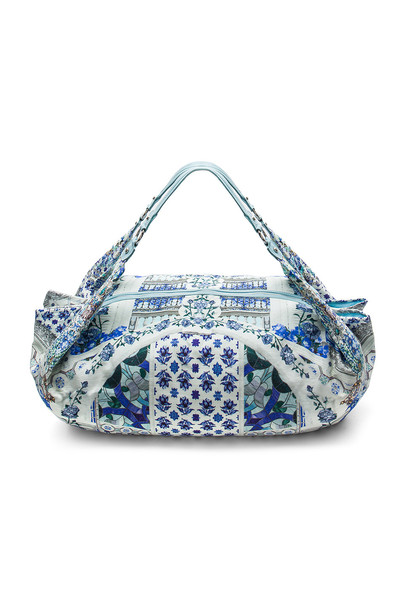 beach bag beach soft bag blue