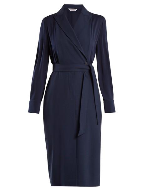 Max Mara dress blue
