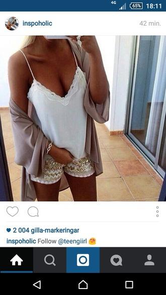 cardigan beige pink pretty summer