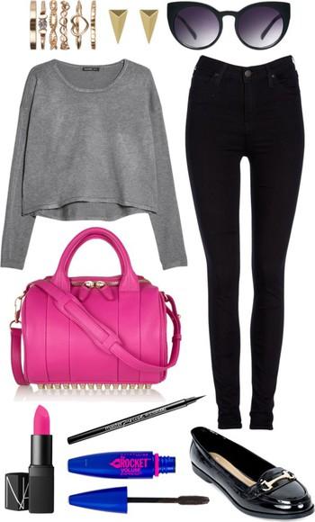 bag pink bag