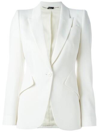 blazer nude jacket