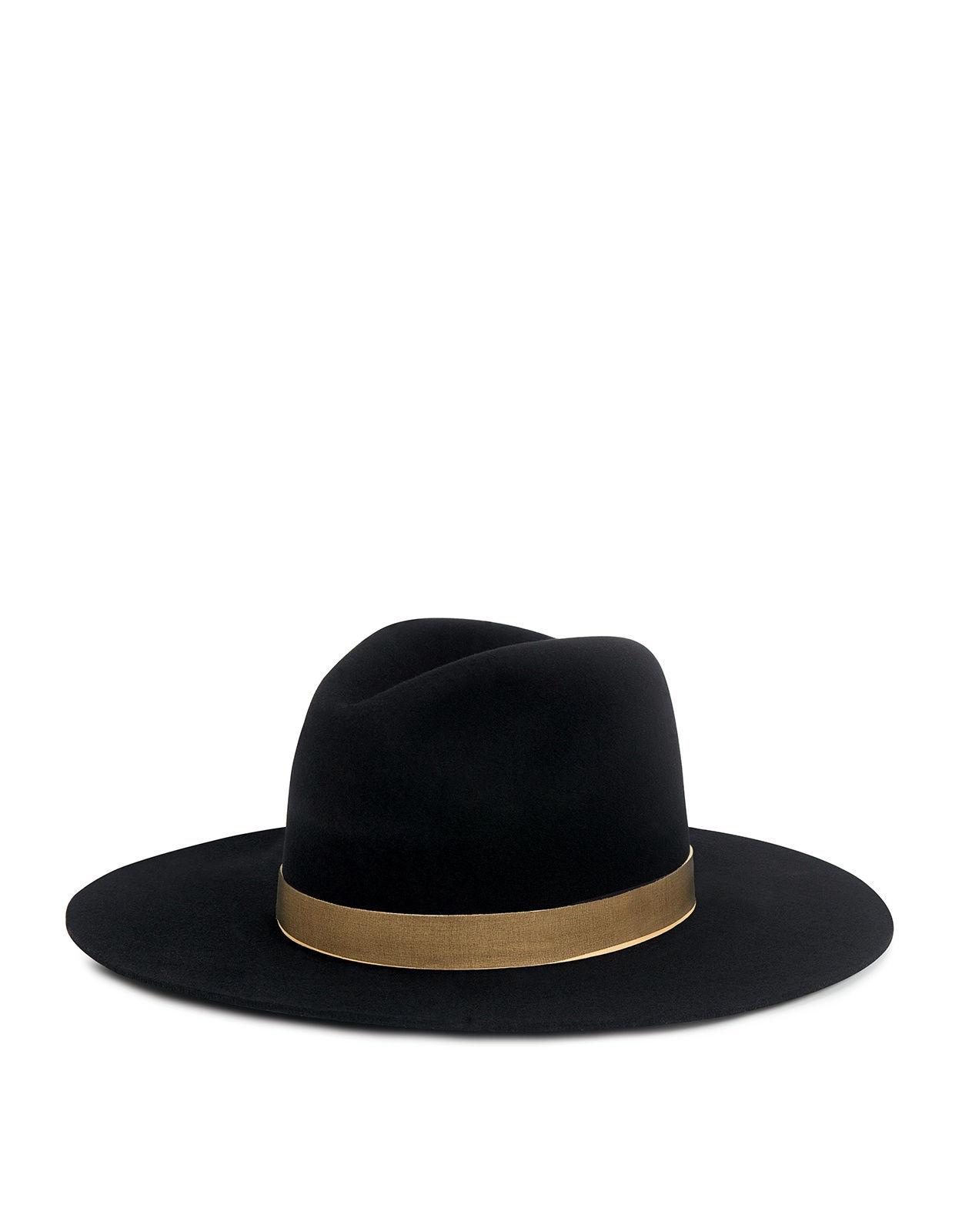 Janessa Leone Georgia Wool Felt Fedora Hat - IFCHIC 0a735c920344
