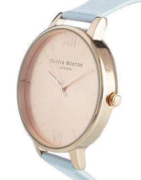 Olivia Burton | Olivia Burton Blue Big Dial Watch at ASOS