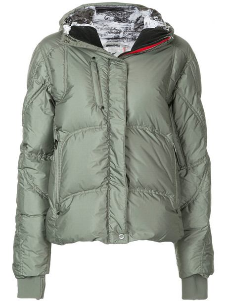 Kru jacket high women green