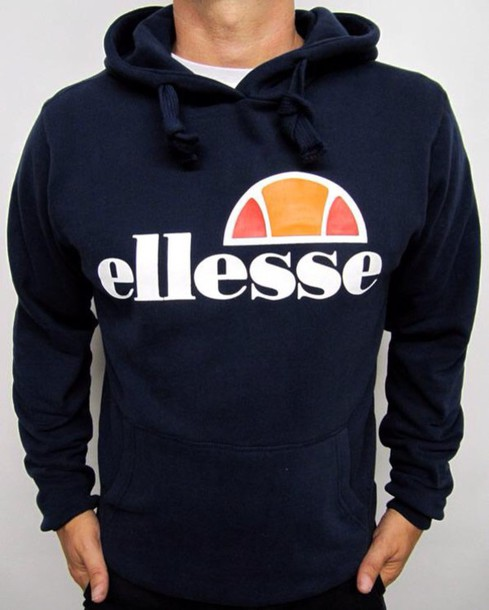 sweater menswear style swag fashion ellesse hoodie