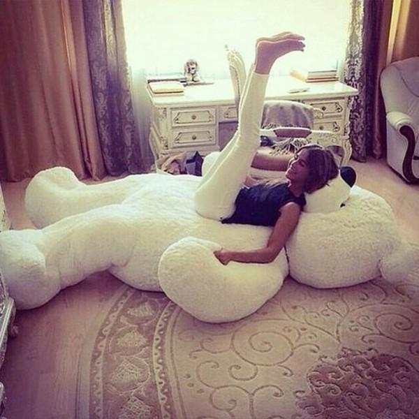 Joyfayu00ae 78u201d White Giant Teddy Bear - Valentineu0026#39;s Day Gift