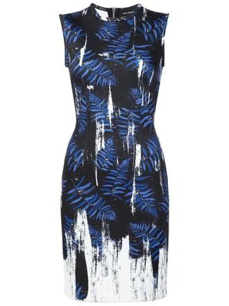 dress print dress print blue