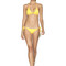 Agua bendita neutral bikini set - amarillo