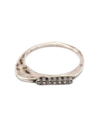 diamond ring women ring grey jewels