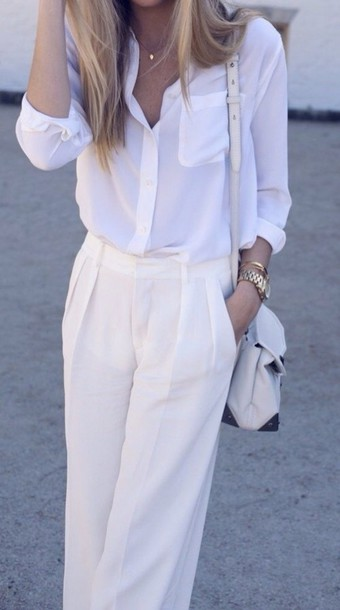 blouse white shirt