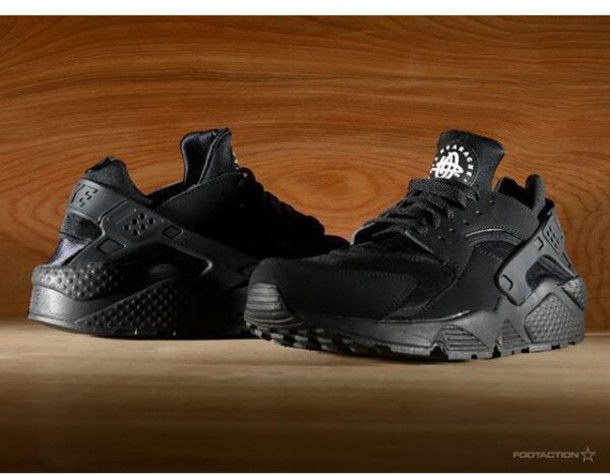 ea9cfc14cf15 shoes black huarache nike all black everything cheap price nike shoes