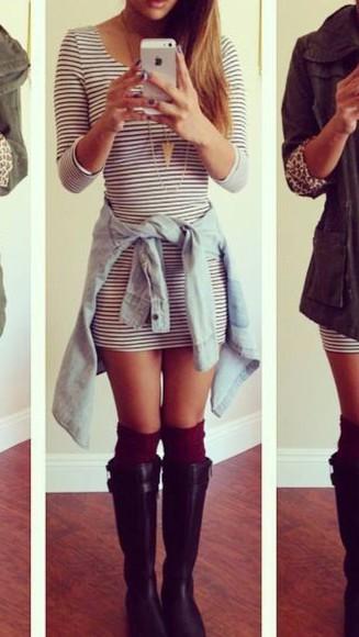 dress bodycon dress fashion 3/4 sleeves 3/4 sleeve dress