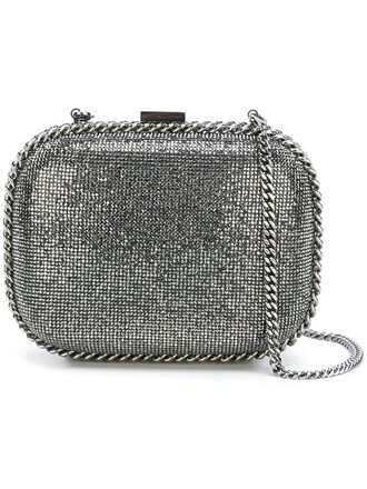 bag clutch metallic