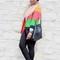 Color-block blazer   faux fur - c's evolution of style