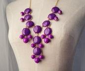jewels,bubble,necklace,purple