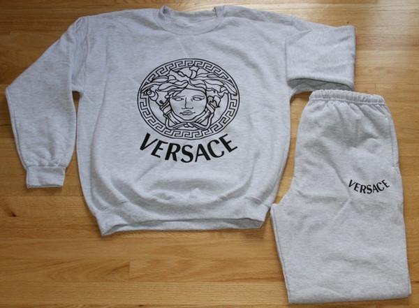 sweater versace sweatshirt sweatpants