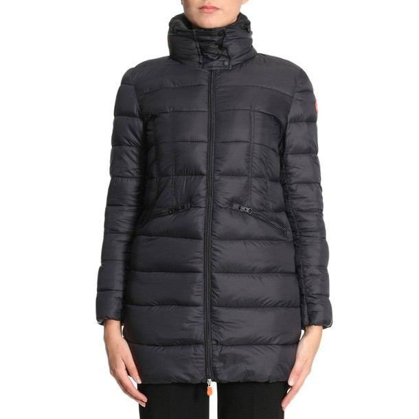 Save The Duck coat women black