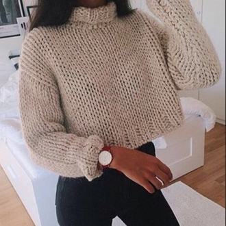 top turtleneck sweater winter outfits fall outfits roll up cream beige