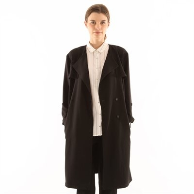 Trench fluide noir - Collection Trench - Pimkie France