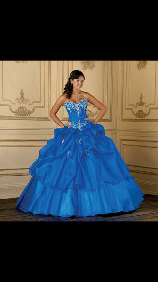 ball gown blue dress quinceanera dress quinceanera gown sweetheart dresses royal blue dress
