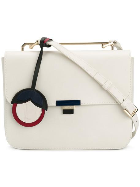 Furla women bag shoulder bag leather white